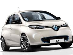 Renault zoe vue avant