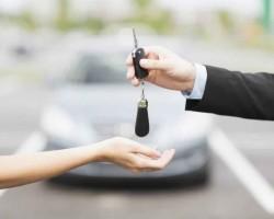 clé de location de voiture